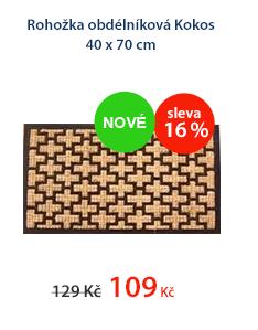 Rohožka obdélníková Kokos 40 x 70 cm