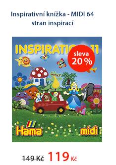 Inspirativní knížka - MIDI 64 stran inspirací
