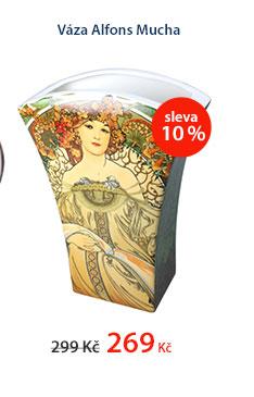 Váza Alfons Mucha v dárkovém balení