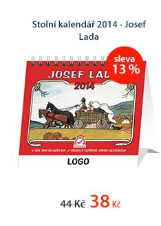 Stolní kalendář 2014 - Josef Lada