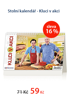 Stolní kalendář 2014 - Kluci v akci