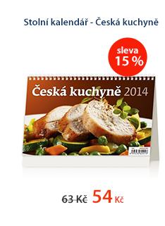 Stolní kalendář 2014 - Česká kuchyně