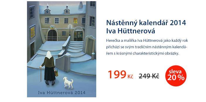 Nástěnný kalendář 2014 Iva Hüttnerová