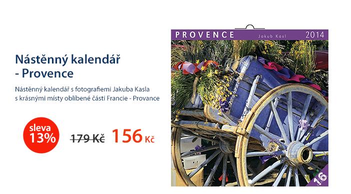 Nástěnný kalendář 2014 - Provence