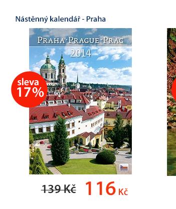 Nástěnný kalendář 2014 - Praha