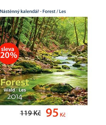 Nástěnný kalendář 2014 - Forest / Les