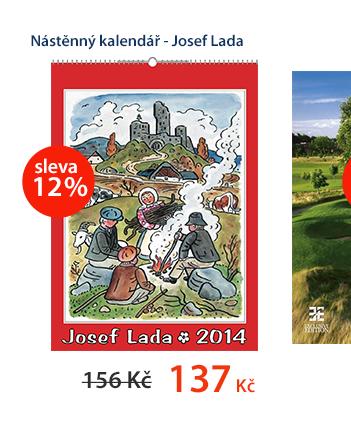Nástěnný kalendář 2014 - Josef Lada