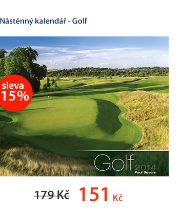 Nástěnný kalendář 2014 - Golf