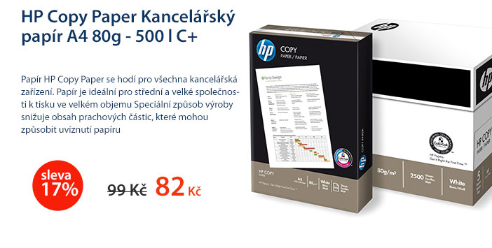 HP COPY PAPER Kancelářský papír A4 80g - 500 listů