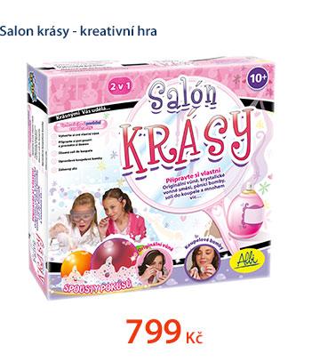 Salon krásy - kreativní hra