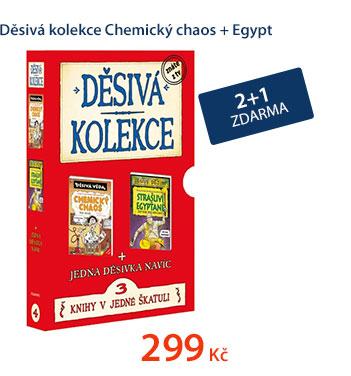 Děsivá kolekce Chemický chaos + Egypt