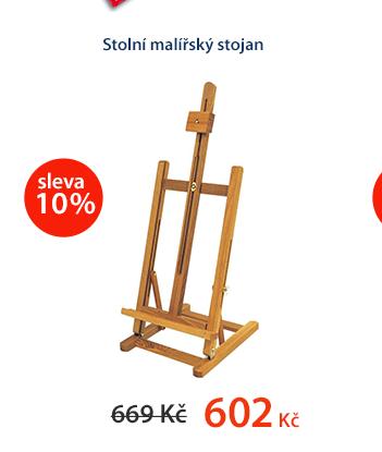 Stolní malířský stojan