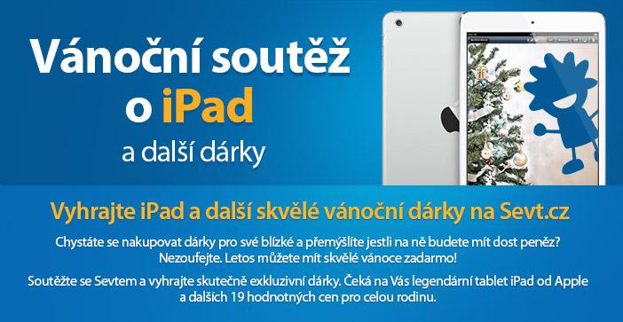 Soutěž o iPad a další ceny