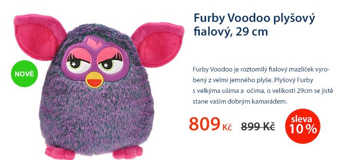 Furby Voodoo plyšový fialový 29 cm