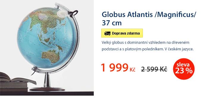 Globus Atlantis /Magnificus/ 37 cm