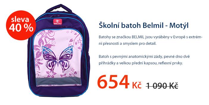 Školní batoh belmil - Motýl