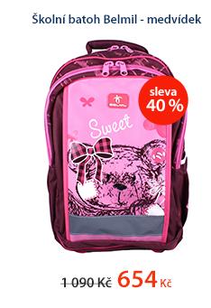 Školní batoh belmil - Medvídek