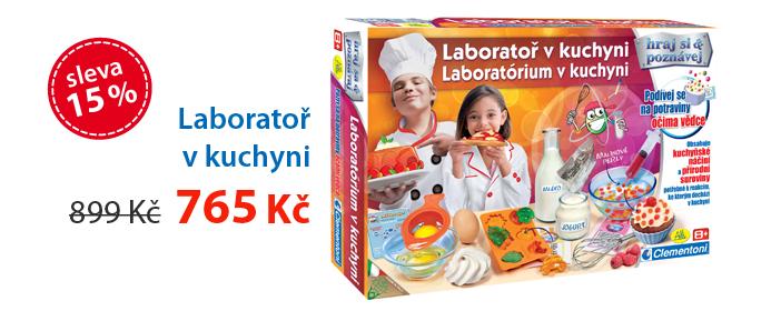 Laboratoř v kuchyni