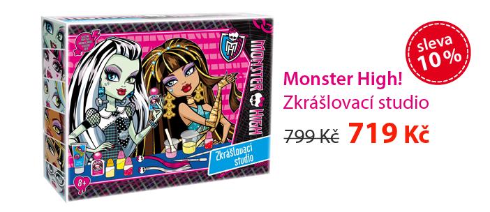 Monster High! - Zkrášlovací studio