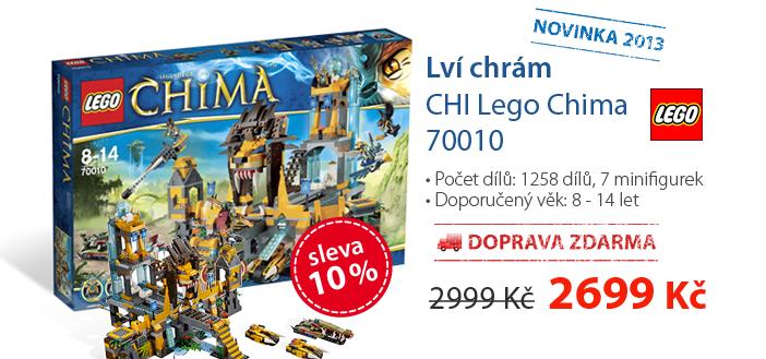 LEGO - Lví chrám CHI Lego Chima 70010 - novinka 2013