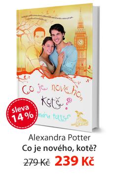 Alexandra Potter: Co je nového, kotě?