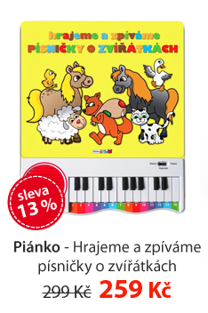 Piánko - Hrajeme a zpíváme písničky o zvířátkách