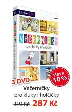 Večerníčky pro kluky i holčičky 3 DVD