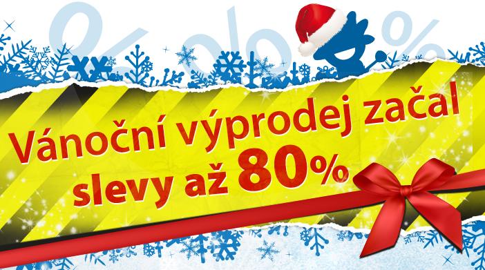 Vánoční výprodej začal - slevy až 80 %