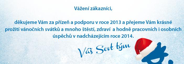 krásné Vánoce a šťastný nový rok 2014