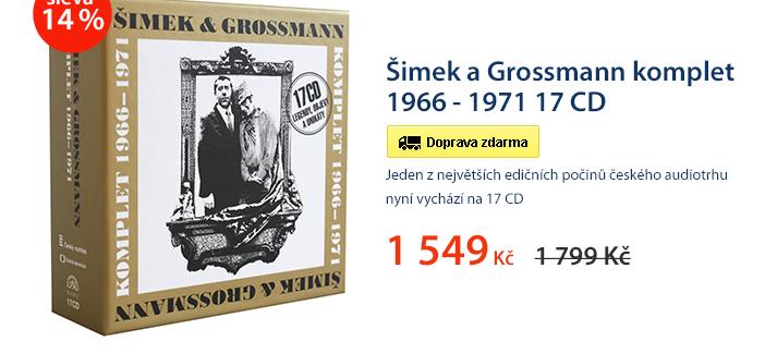 Šimek a Grossmann komplet 1966 - 1971 17 CD